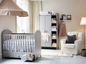 Pokój dziecka IKEA - Średni beżowy pokój dziecka dla chłopca dla dziewczynki dla niemowlaka - zdjęcie od IKEA