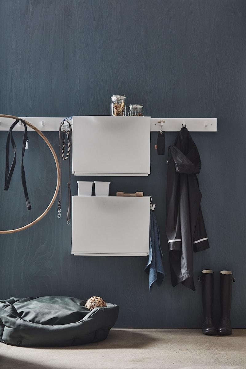 Przedpokój Ikea Mały Szary Hol Przedpokój Zdjęcie Od