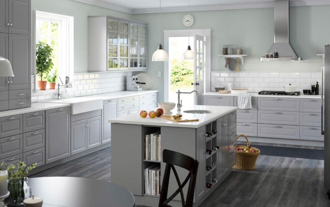 3 proste etapy urządzania kuchni  Homebook pl -> Kuchnia Z Wyspą Ikea