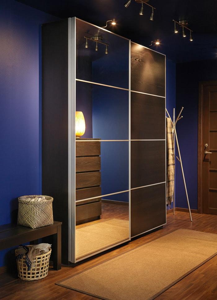 Sypialnia IKEA - Średni niebieski hol / przedpokój - zdjęcie od IKEA