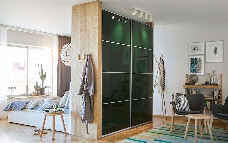 Sypialnia IKEA - Średni biały salon, styl eklektyczny - zdjęcie od IKEA