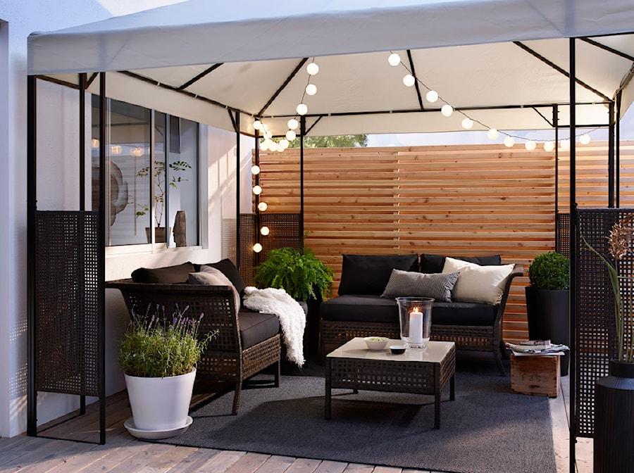 Balkon i ogród IKEA - Średni taras z tyłu domu, styl nowoczesny - zdjęcie od IKEA