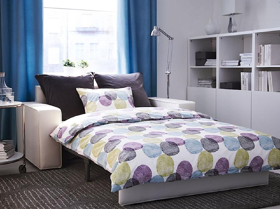 Sypialnia Ikea Mała Biała Sypialnia Dla Gości Styl