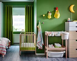 Pokój dziecka IKEA - Średni zielony pokój dziecka dla chłopca dla niemowlaka - zdjęcie od IKEA