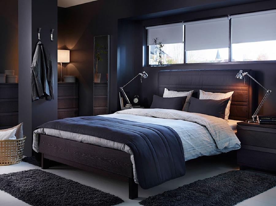 Aranżacje wnętrz - Sypialnia: Sypialnia IKEA - Średnia kolorowa sypialnia dla gości, styl nowoczesny - IKEA. Przeglądaj, dodawaj i zapisuj najlepsze zdjęcia, pomysły i inspiracje designerskie. W bazie mamy już prawie milion fotografii!