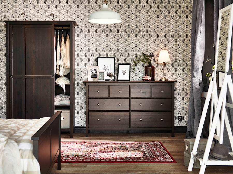 Sypialnia IKEA - Średnia kolorowa sypialnia małżeńska, styl tradycyjny - zdjęcie od IKEA