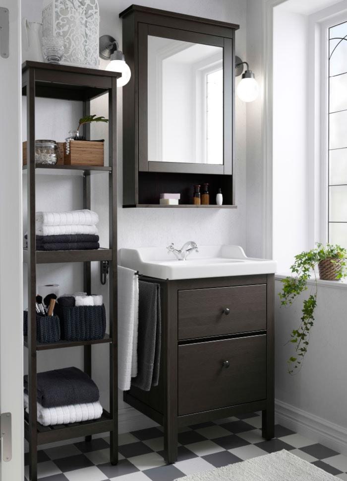 łazienka Ikea łazienka Styl Tradycyjny Zdjęcie Od Ikea
