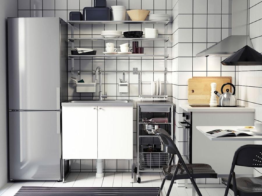 Kuchnia IKEA  Mała kuchnia, styl industrialny  zdjęcie od IKEA -> Kuchnia Ikea Koszty
