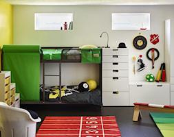 Pokój dziecka IKEA - Biały żółty pokój dziecka - zdjęcie od IKEA