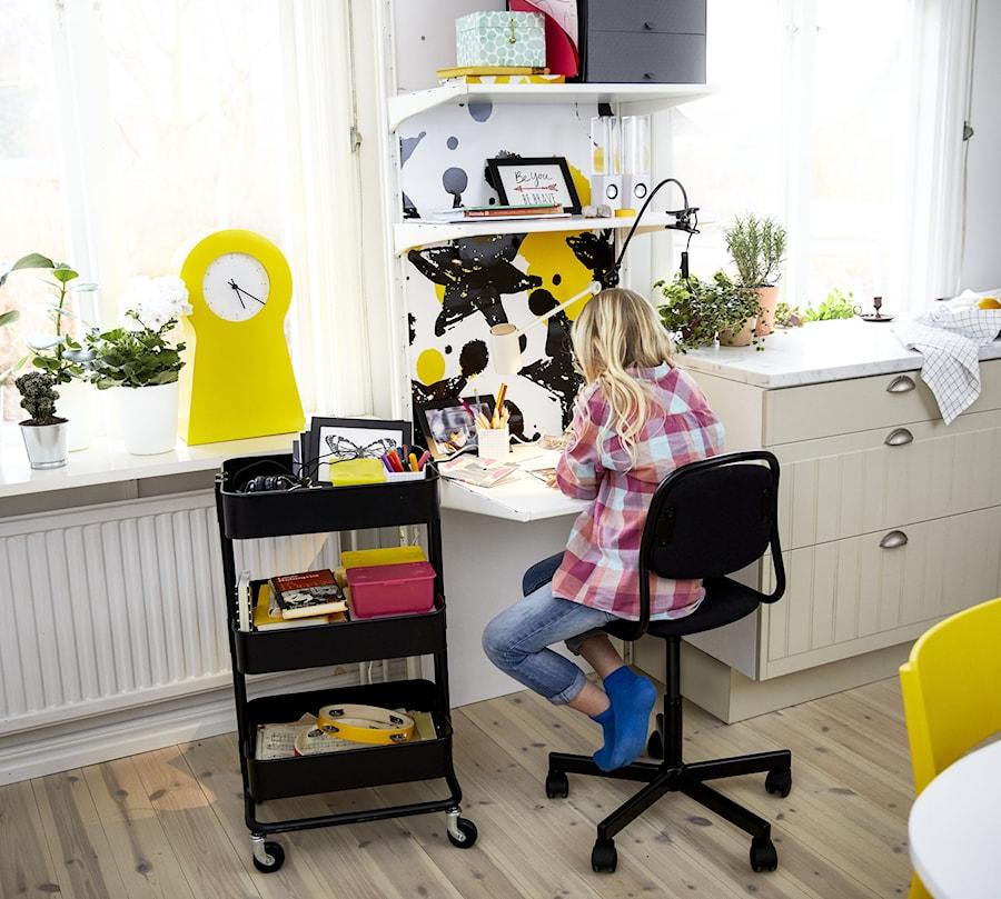 Pokój dziecka IKEA - Mały szary pokój dziecka dla chłopca dla dziewczynki dla ucznia dla malucha - zdjęcie od IKEA