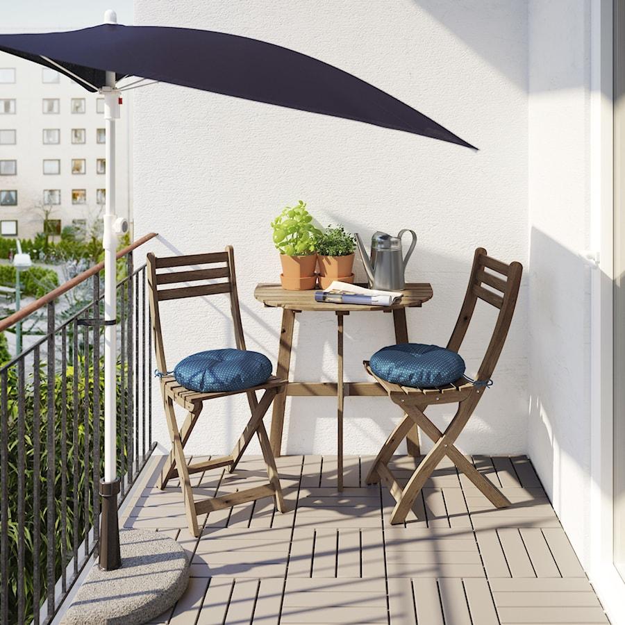 Mały Balkon Ikea Taras Styl Nowoczesny Zdjęcie Od Ikea