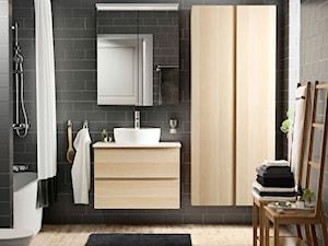 Łazienka IKEA - Średnia łazienka jako salon kąpielowy z oknem - zdjęcie od IKEA