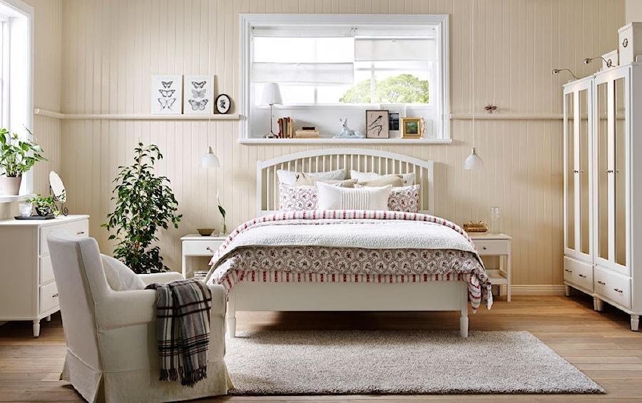 Sypialnia ikea du a sypialnia ma e ska styl for Z gallerie bedroom inspiration