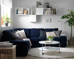 Pokój dzienny IKEA - Mały szary salon, styl tradycyjny - zdjęcie od IKEA