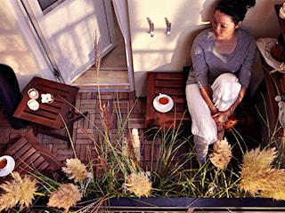 Mały balkon – jak go zorganizować? Przechowywanie na balkonie