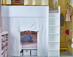 Pokój dziecka IKEA - Mały żółty różowy pokój dziecka dla chłopca dla dziewczynki dla rodzeństwa dla malucha - zdjęcie od IKEA