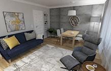 Salon styl Skandynawski - zdjęcie od JMJ Interiors