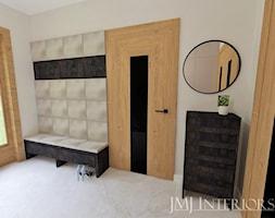Dom w Skowarczu - Hol / przedpokój, styl nowoczesny - zdjęcie od JMJ Interiors - Homebook