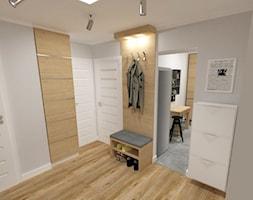mieszkanie w bloku z wielkiej płyty - Hol / przedpokój, styl nowoczesny - zdjęcie od JMJ Interiors