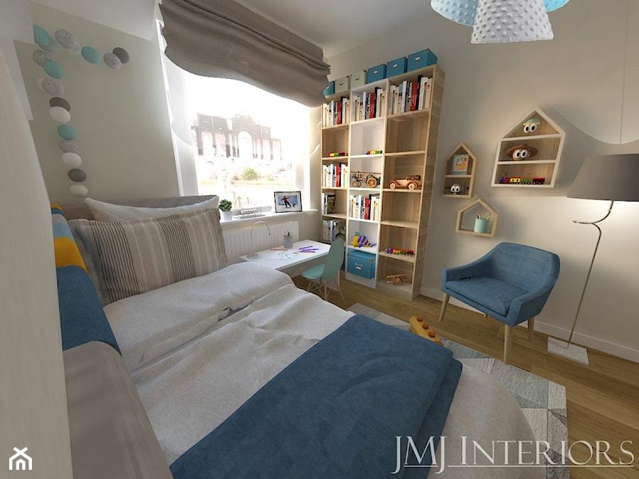 Minimalistyczne mieszkanie na Oruni Górnej Gdańsk - Pokój dziecka, styl skandynawski - zdjęcie od JMJ Interiors