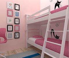 pokój dla 2 księżniczek 8 i 10 lat- 8,5m2 - zdjęcie od JMJ Interiors