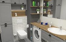 5-metrowa łazienka w stylu skandynawskim - zdjęcie od JMJ Interiors