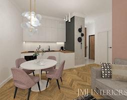 Kuchnia otwarta na salon - zdjęcie od JMJ Interiors - Homebook