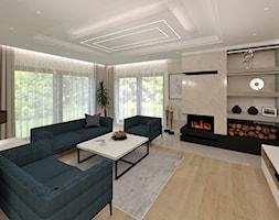 Dom pod Gdańskiem - Salon, styl nowoczesny - zdjęcie od JMJ Interiors - Homebook