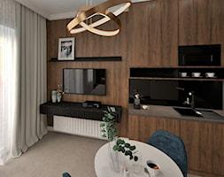 ścianka telewizyjna - zdjęcie od JMJ Interiors - Homebook