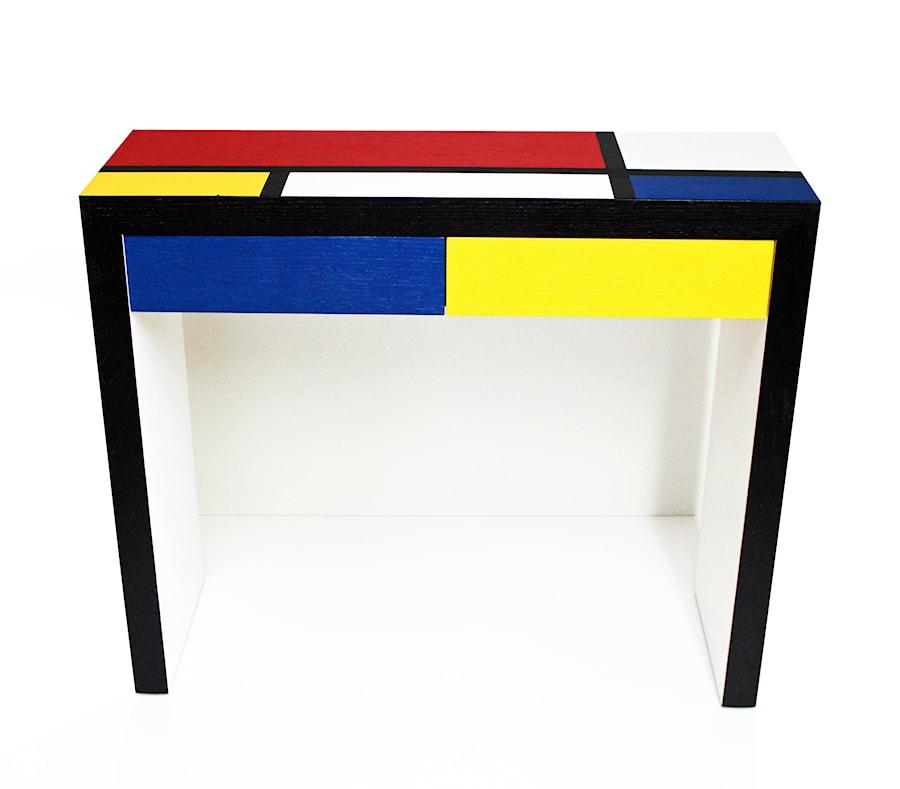 Modernistyczna konsola inspirowana sztuką Mondrian - zdjęcie od EVA DESIGN