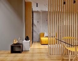 #13 - Średni szary salon z jadalnią, styl nowoczesny - zdjęcie od Meble Wiśniewski MEBLO-MARK