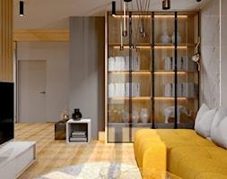 #13 - Mały szary salon, styl nowoczesny - zdjęcie od Meble Wiśniewski MEBLO-MARK