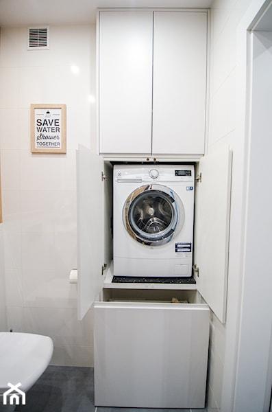 małe łazienki pralka