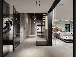 Rezydencja pod Poznaniem - Schody, styl nowoczesny - zdjęcie od Katarzyna Kraszewska Architektura Wnętrz