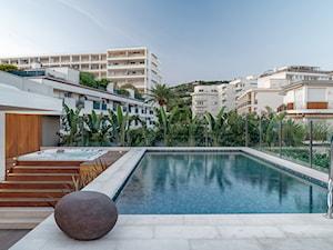 Cannes - Taras z basenem - zdjęcie od Katarzyna Kraszewska Architektura Wnętrz