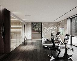Rezydencja pod Poznaniem - Duża łazienka, styl nowoczesny - zdjęcie od Katarzyna Kraszewska Architektura Wnętrz - Homebook