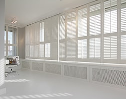 biały gabinet - zdjęcie od Katarzyna Kraszewska Architektura Wnętrz