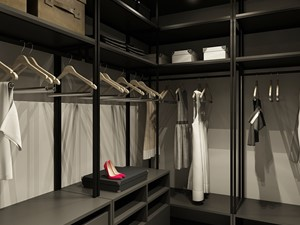 Średnia zamknięta garderoba - zdjęcie od OMCD Architects