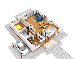 Parter+domu+jednorodzinnego+-+zdj%C4%99cie+od+Joanna+P%C3%B2%C5%82torak-Surowiecka
