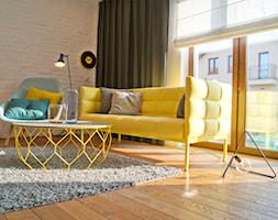 Kolorowe akcenty we wnętrzu- Basea Architekci - zdjęcie od Base Architekci