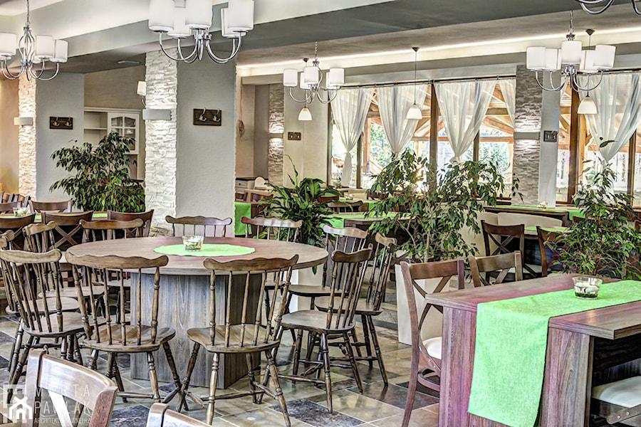 Restauracja BESKID Brenna - zdjęcie od MARTA PAWLAK ARCHITEKTURA WNĘTRZ