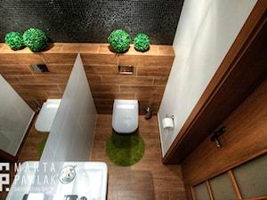Dom Brenna - realizacja - Łazienka - zdjęcie od MARTA PAWLAK ARCHITEKTURA WNĘTRZ