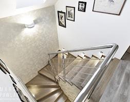 Dom Jednorodzinny Wisła 02 -realizacja - Schody, styl tradycyjny - zdjęcie od MARTA PAWLAK ARCHITEKTURA WNĘTRZ