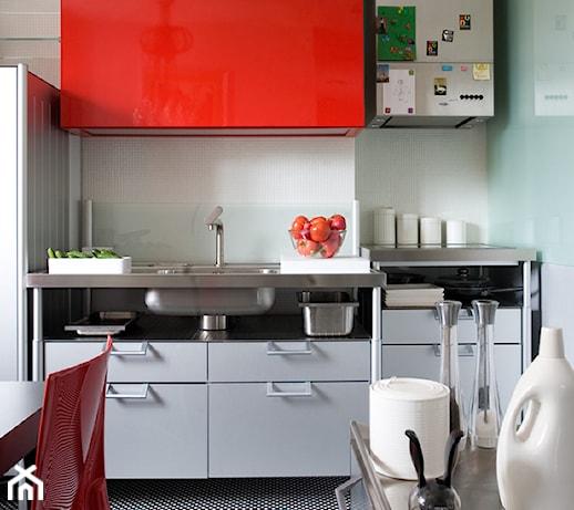 Górnośląska  Kuchnia, styl nowoczesny  zdjęcie od   -> Kuchnia Weglowa Barbara