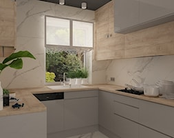 Kuchnia+w+domu+jednorodzinnym+-+zdj%C4%99cie+od+MOTIF+DESIGN