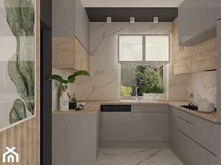 Aranżacje wnętrz - Kuchnia: Kuchnia w domu jednorodzinnym - MOTIF DESIGN. Przeglądaj, dodawaj i zapisuj najlepsze zdjęcia, pomysły i inspiracje designerskie. W bazie mamy już prawie milion fotografii!