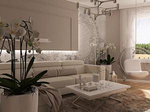 Aranżacja małego salonu - zdjęcie od MOTIF DESIGN