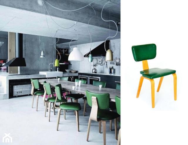 Zielone Krzesla Zdjecie Od Natalia Nykiel Homebook
