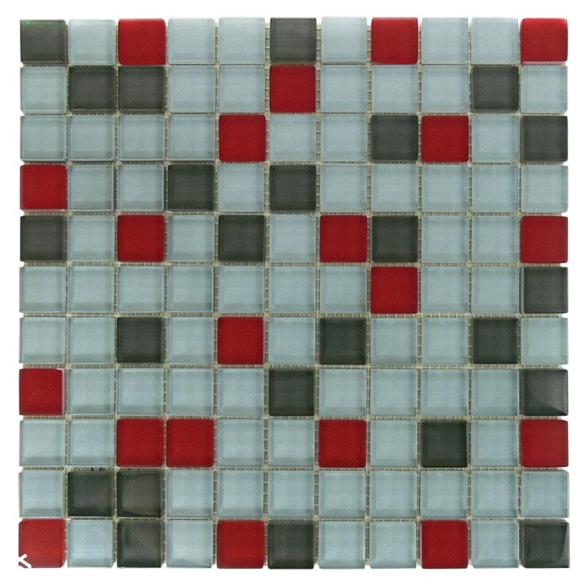 Mozaika Szaro Czerwona Zdjęcie Od Topmozaiki Homebook