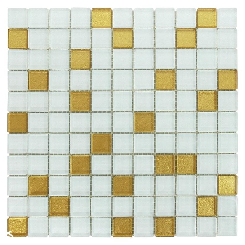 Mozaika Bialo Złota Zdjęcie Od Topmozaiki Homebook